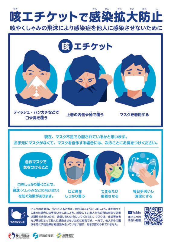 コロナにマスクは効く?